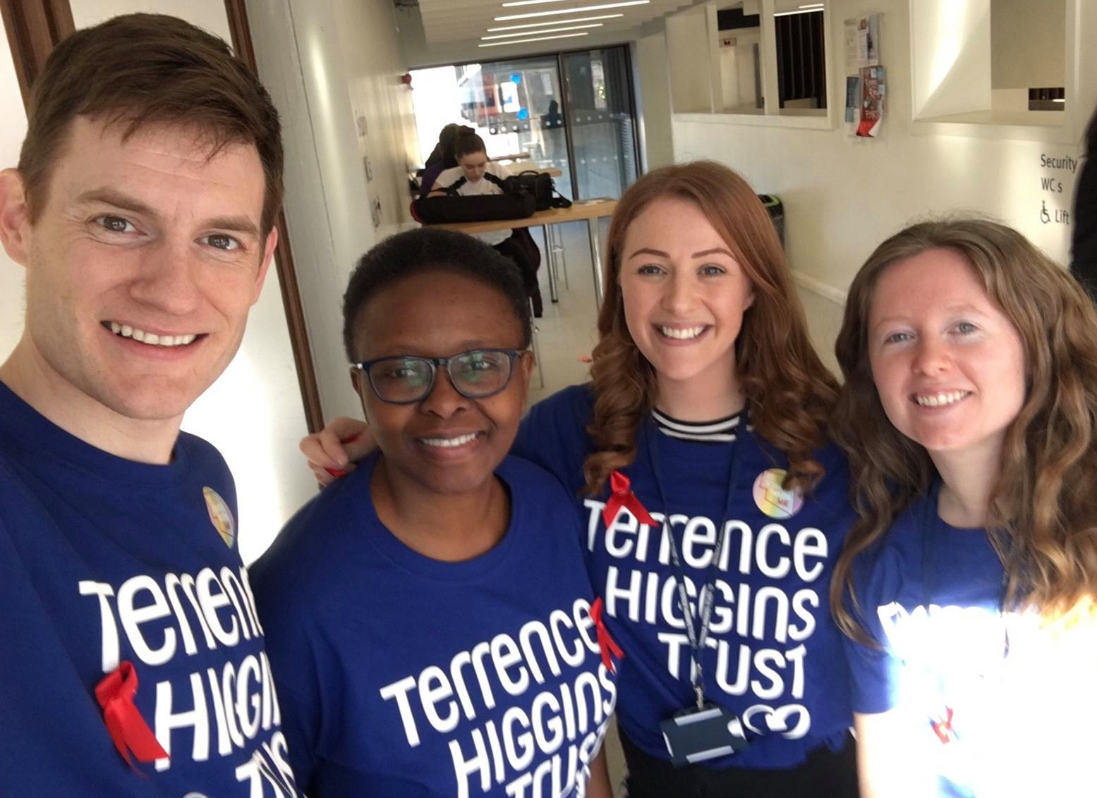 Terrence Higgins Trust at City Uni