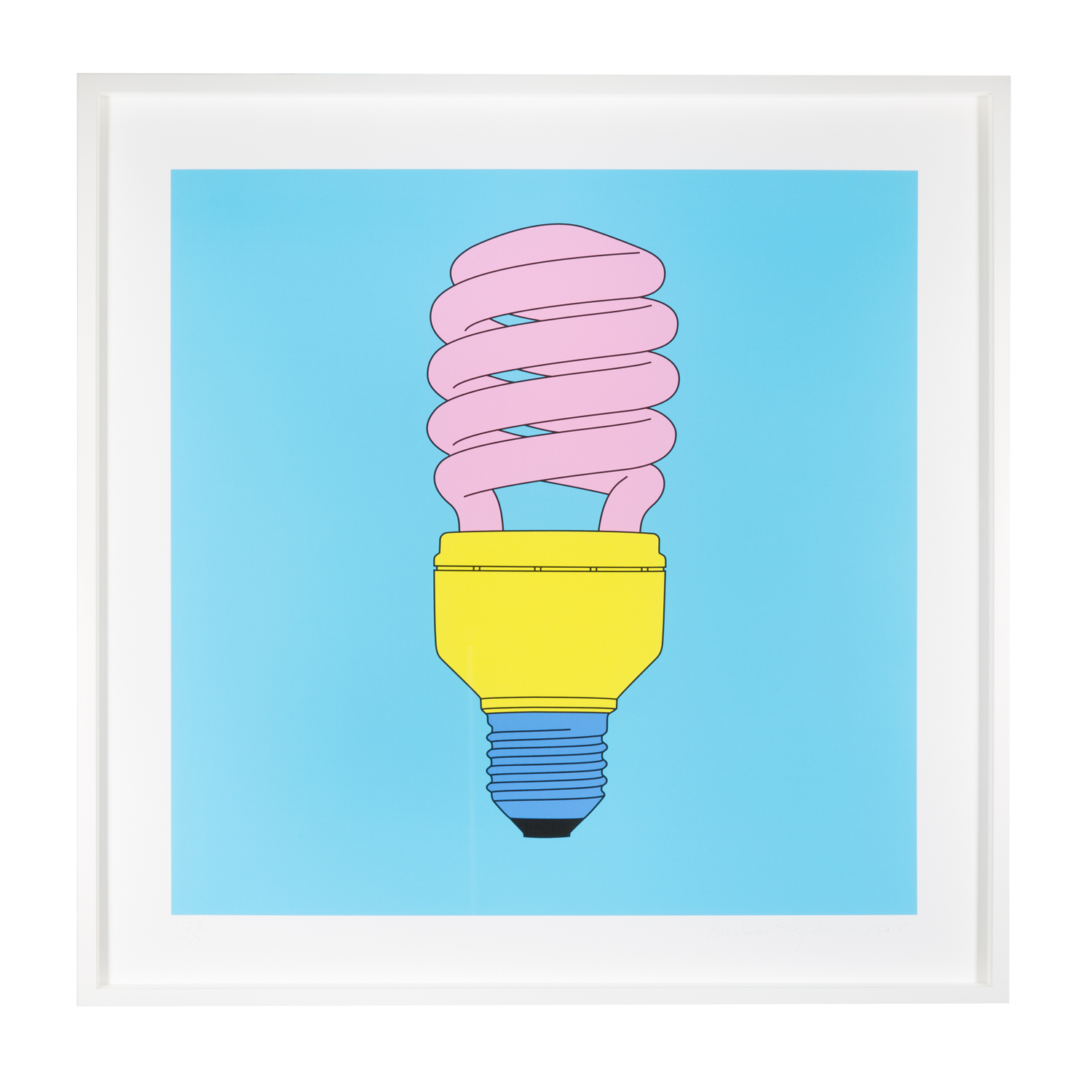 Lightbulb by Michael Craig-Martin