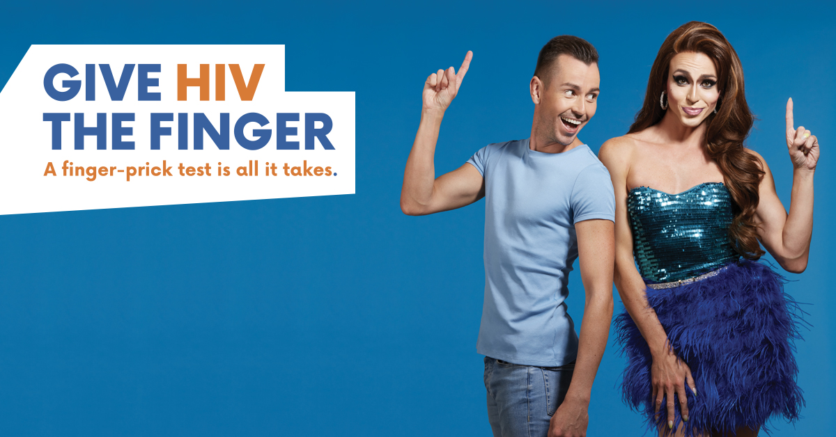 Give HIV the Finger - A finger-prick test is all it takes