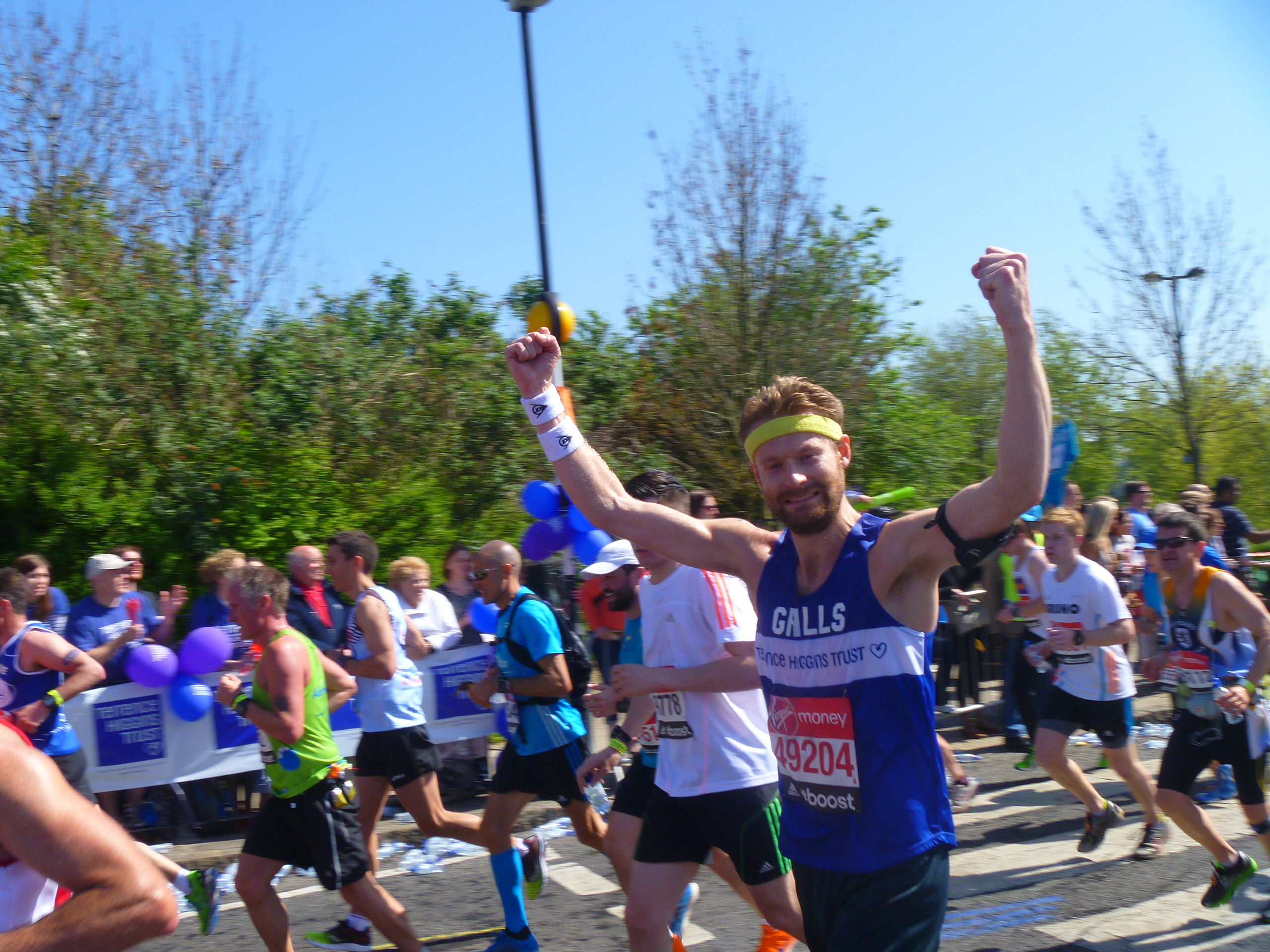 Royal Parks Half Marathon runner