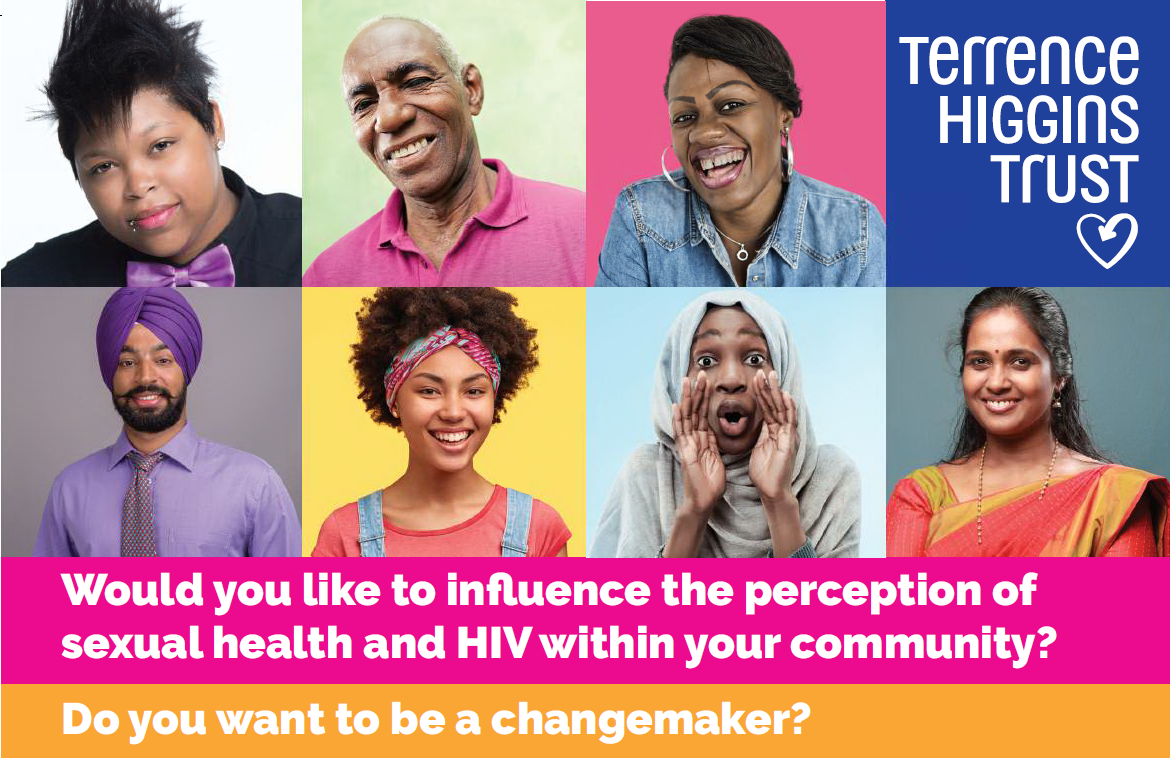 Would you like to influence the perception of sexual health and HIV within your community?