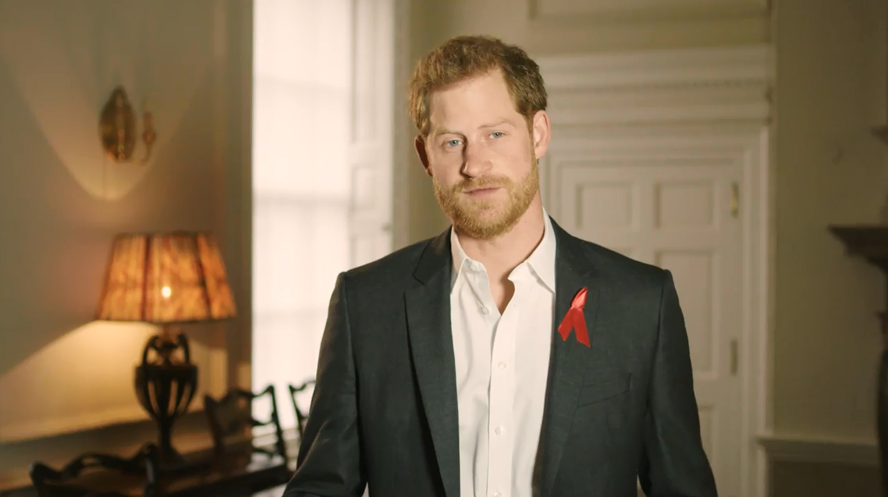 Prince Harry NHTW 2018 message