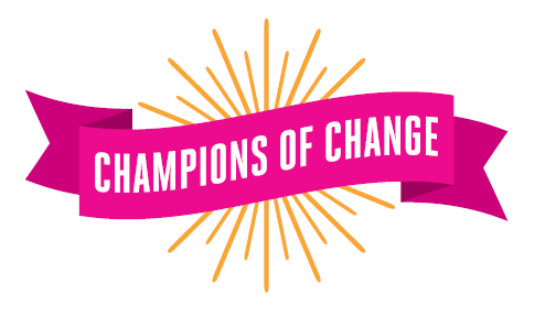 Champions of change logo
