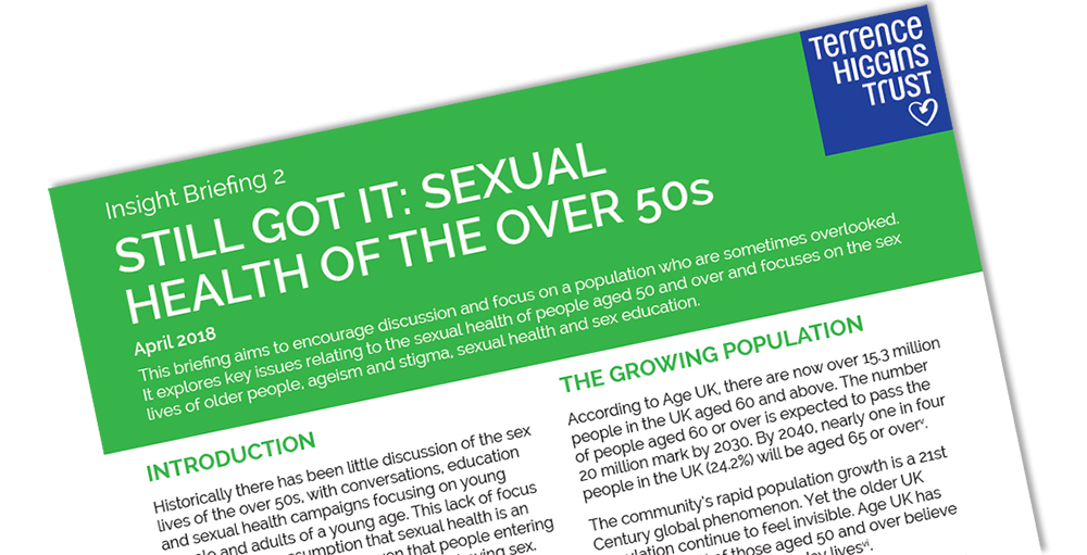 Still Got it: sexual health of the over 50s