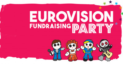 Eurovision Fundraising Party banner