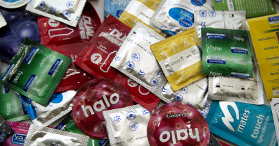 A range of condoms