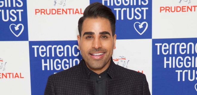 Dr Ranj with THT logo background