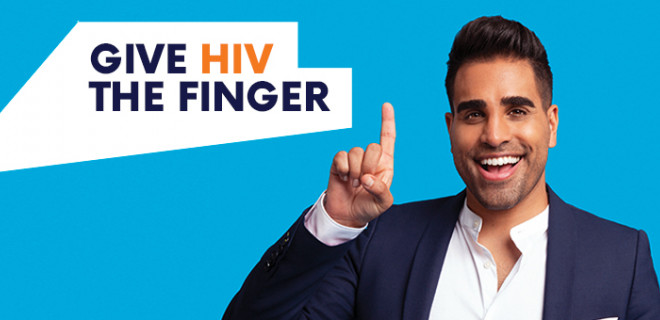 Give HIV the Finger - Dr Ranj