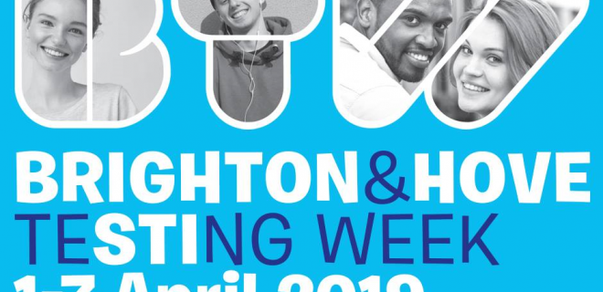 Brighton and Hove STI Testing Week 2019 logo