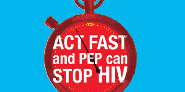 Stopwatch: Act fast and PEP cans top HIV