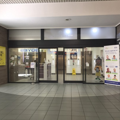 Live Well Centre in Middlesbrough, front entrance