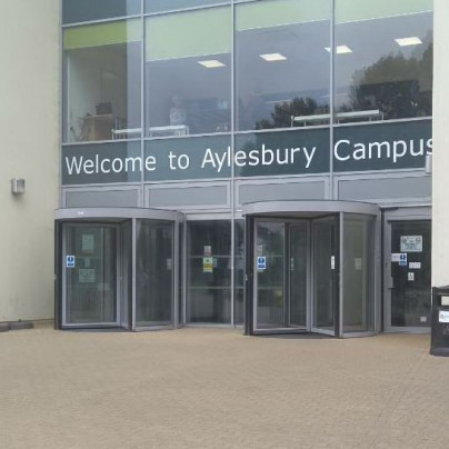 Aylesbury Campus College entrance