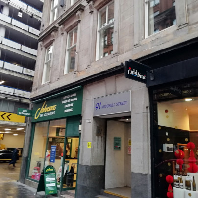 Glasgow Fastest Clinic, Scottish Drugs Forum, Mitchell Street